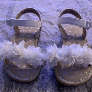Other - Toddler girl sandals with flower detail